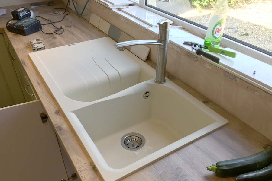 sink fitted professionally in corby northants